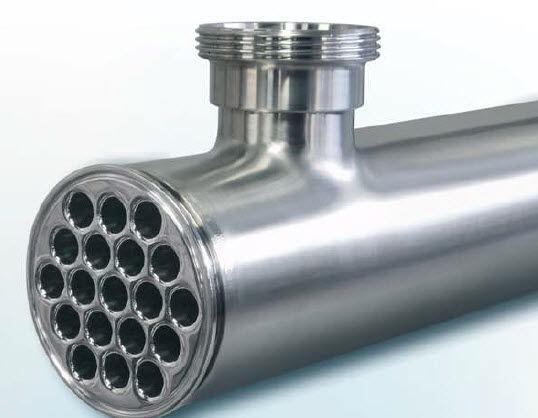 Multi-tube-Wärmetauscher / Luft/Wasser - Mixflo series - MBS s.r.l.