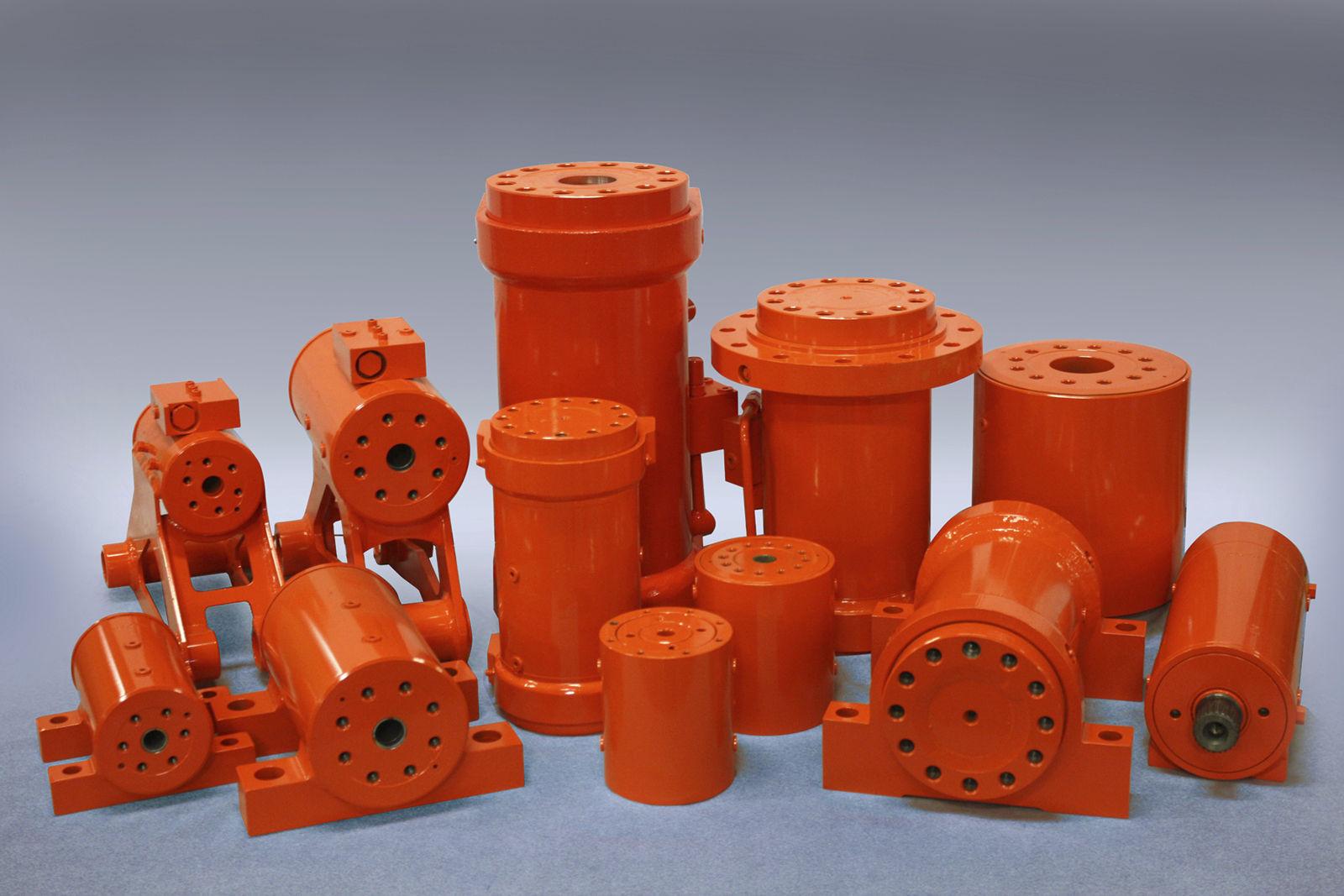 Hydraulik drehzylinder