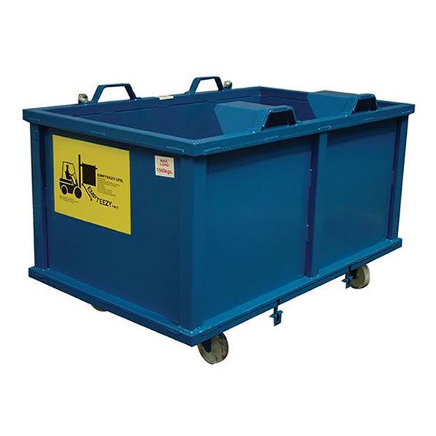 Selbstkippender Behälter / für Müll - max. 1 500 kg | ADC15C - Empteezy