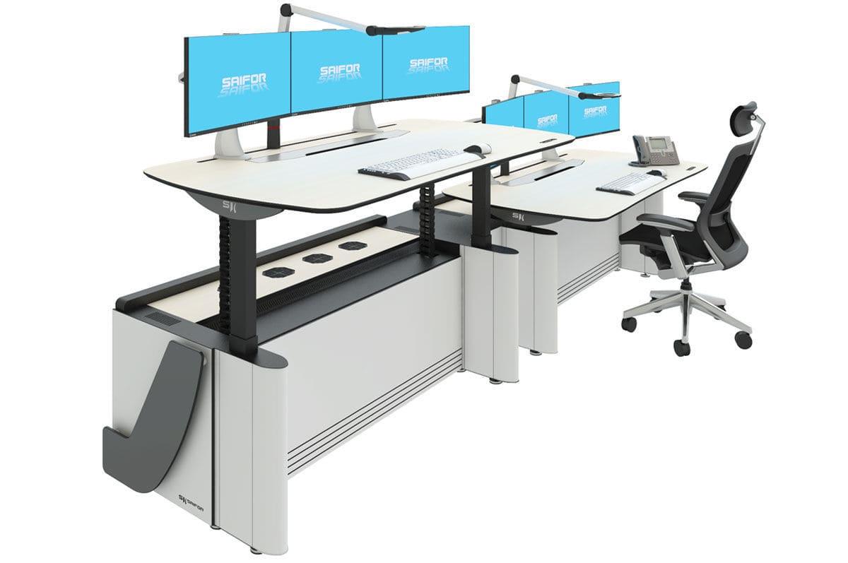 Büro Arbeitsplatz Ergonomisch Widestar Saifor