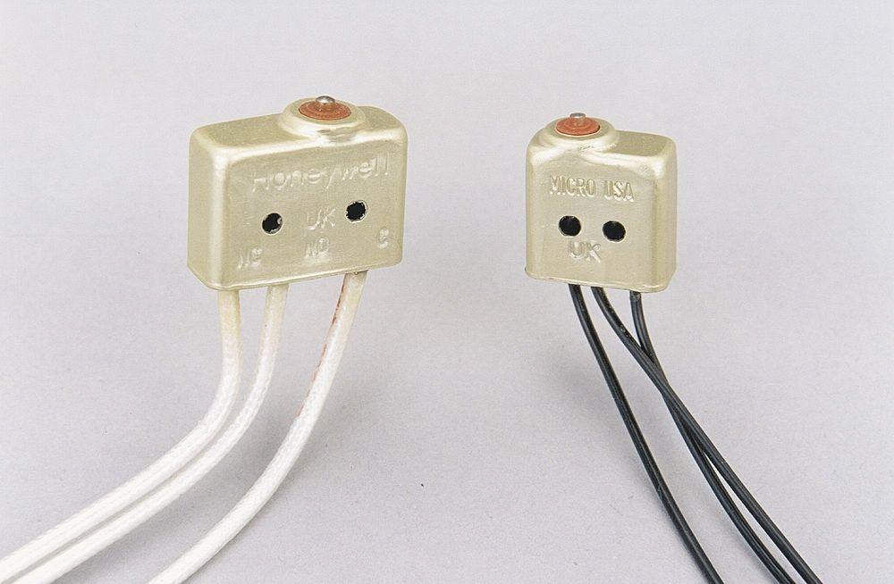 Zweipoliger Schalter / einpolig / Edelstahl / für hohe Temperaturen ...