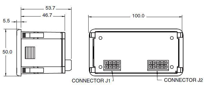 Entladungs-Anzeiger / LED / für Einbau / für Batterie - 12 - 48 VDC ...