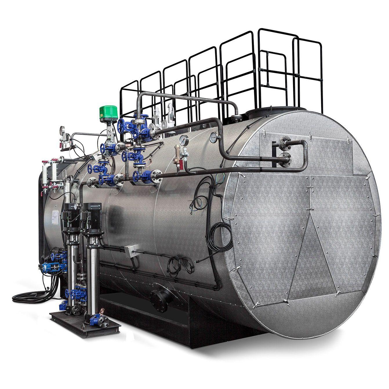 Dampfkessel / Gas / horizontal / drei Abzüge - GSX series - ICI ...
