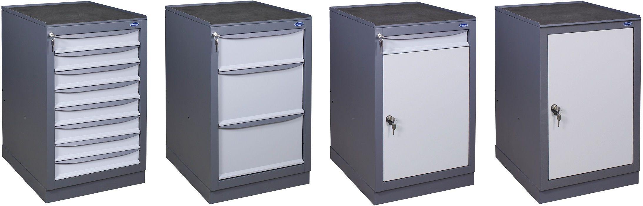 Werkstattschrank / bodenstehend / Schubladen / Metall - PJSC \
