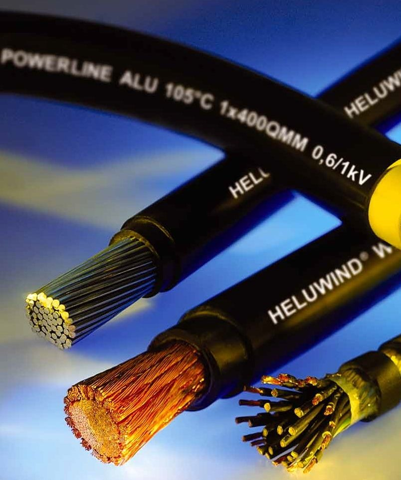 Versorgungs-Stromkabel / ölbeständig / Kupfer / flexibel - HELUKABEL