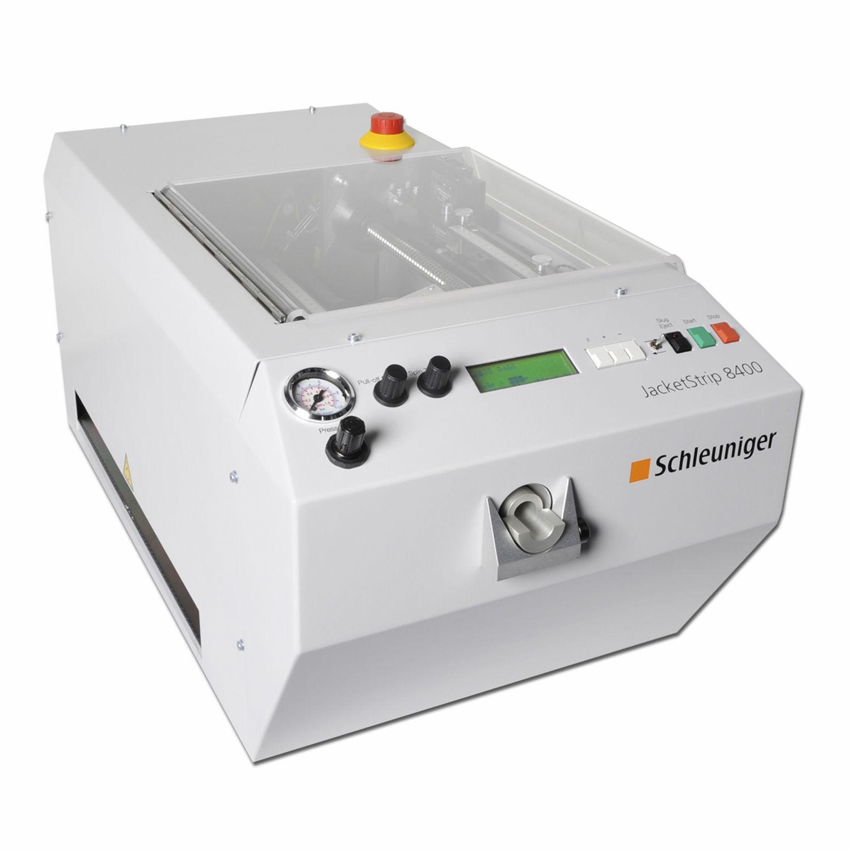 Abisoliermaschine für Elektrokabel / elektrisch - JacketStrip 8400 ...