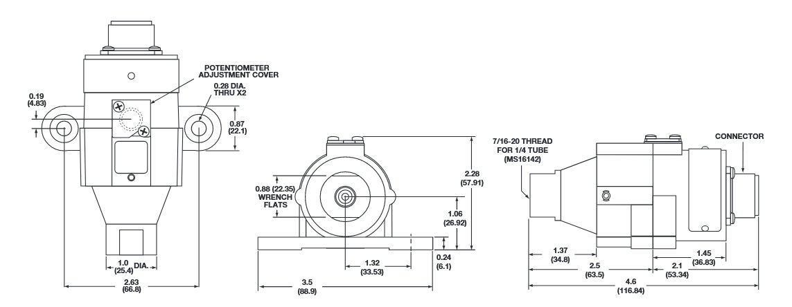Absolutdruckaufnehmer / Differenz / Membran / analog - 742, 742D ...