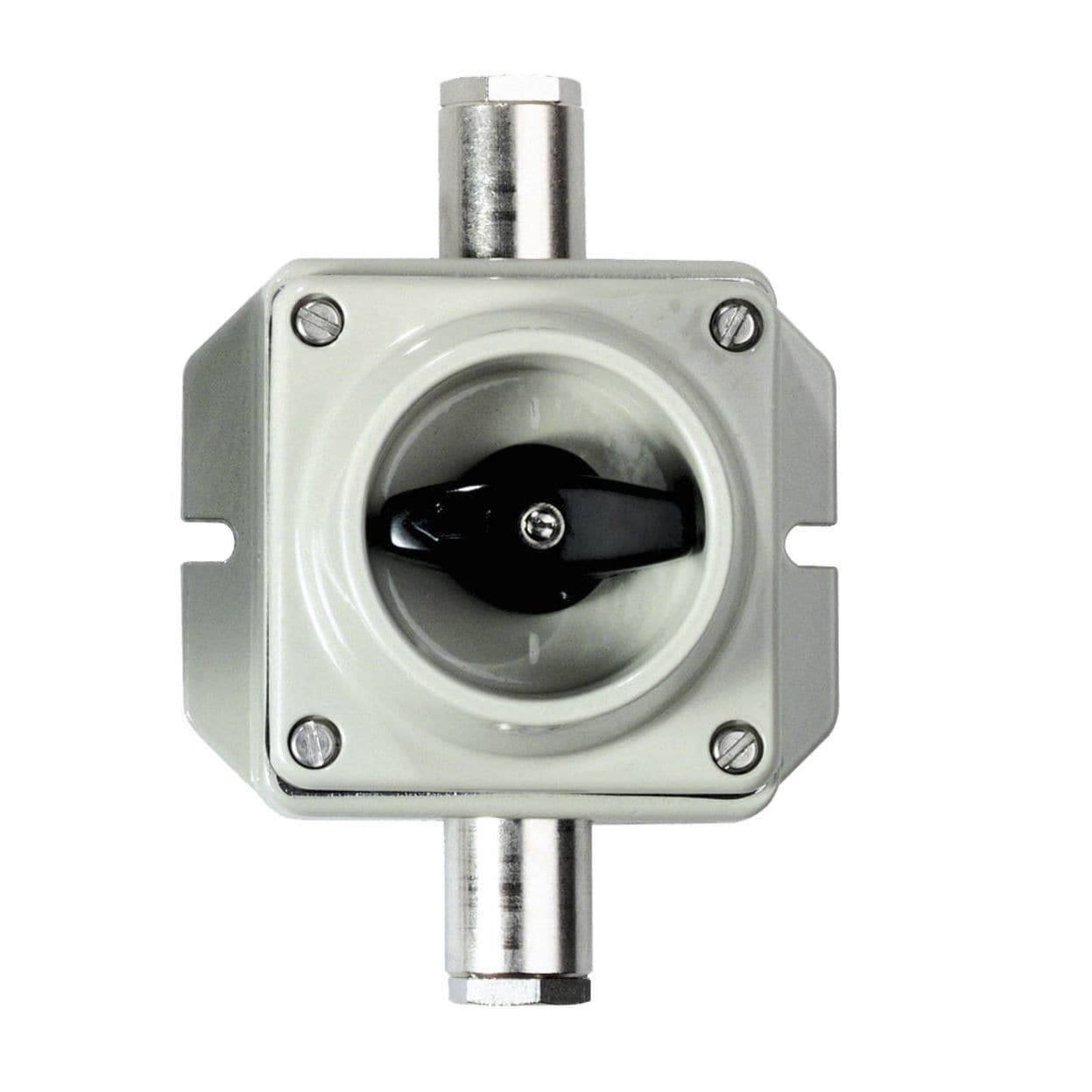 Drehbarer Umschalter / zweipolig / On Off / Aluminium - 75212 series ...