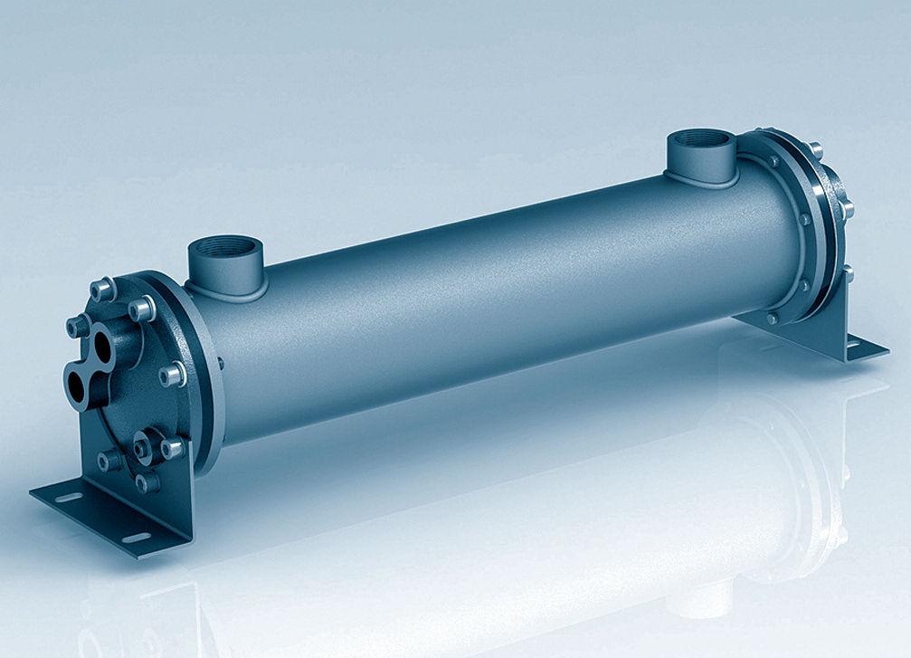 Rohrbündel Wärmetauscher / Wasser/Wasser - CKM - Universal Hydraulik ...