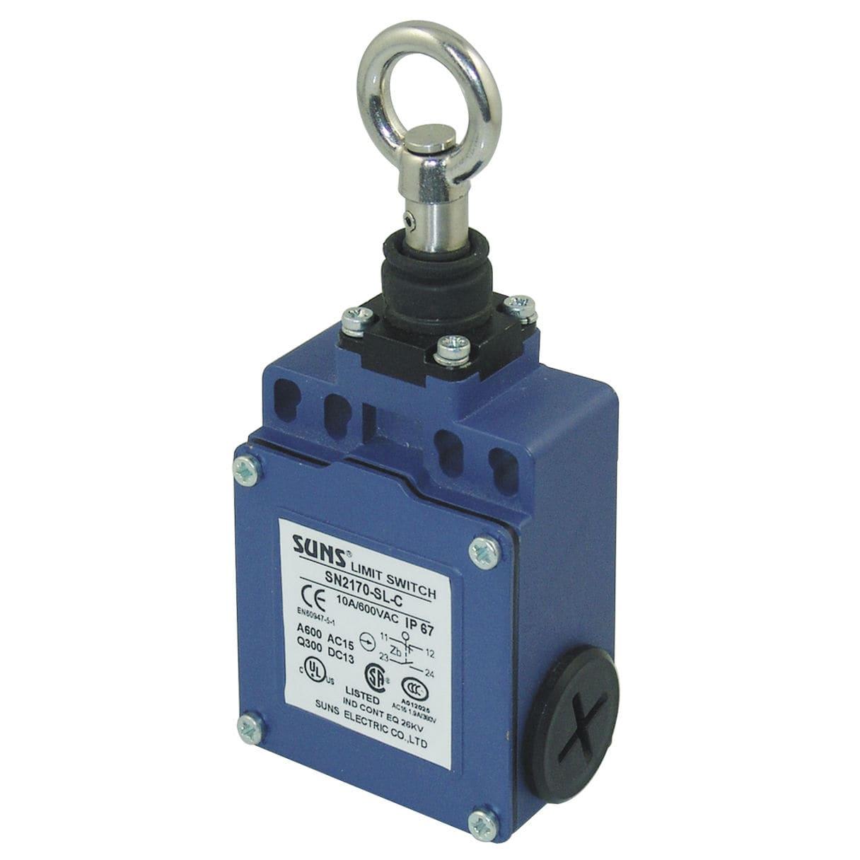 Schalter mit Sicherheitscode / Seilzug / einpolig / Leuchtmelder ...