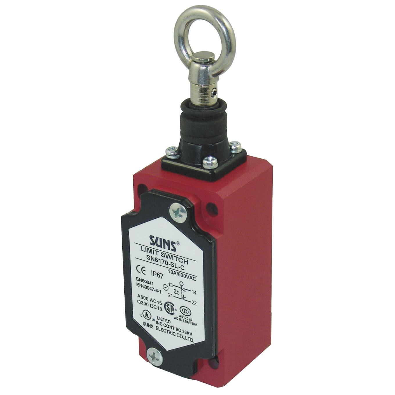 Sicherheitsschalter / Seilzug / einpolig / Leuchtmelder - SN6170 - SUNS