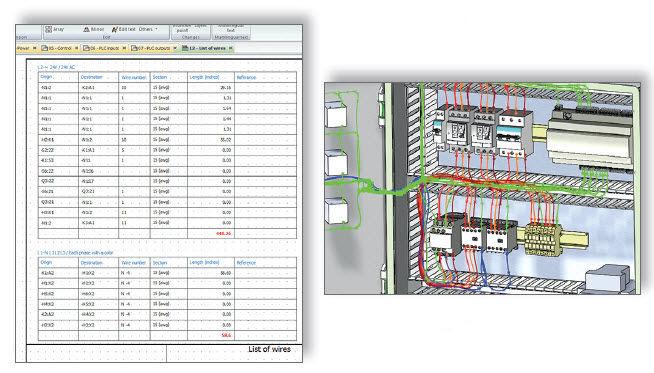 Software / CAD für Elektroprojektierung / Schaltplan / 3D / Echtzeit ...