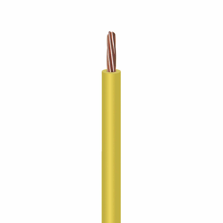 Isoliertes Stromkabel / einleiter / Kupfer / mit PVC Isolierung ...