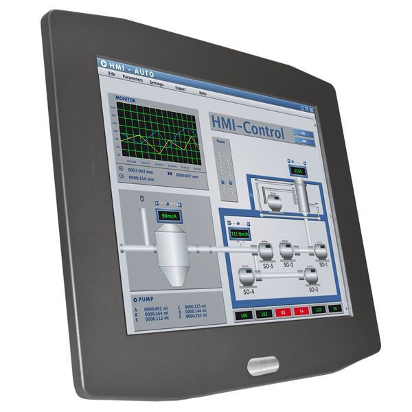 Panel-PC / LCD / mit resisitivem Touchscreen / mit resistivem 5 ...
