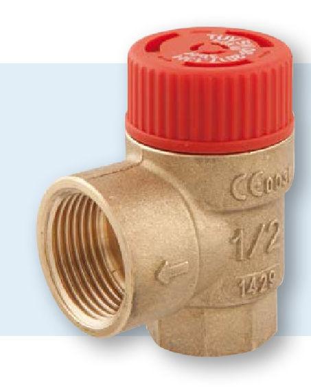 überdruckventile für wasserleitungen