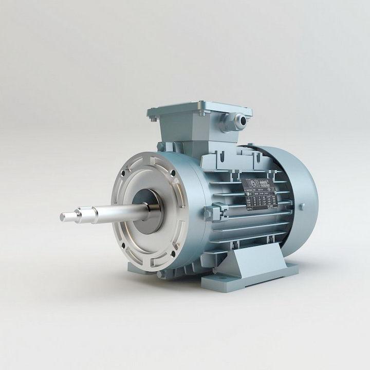 AC-Motor / einphasig / Induktion / Anlauf und Betriebskondensator ...