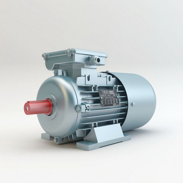 Motor / elektromagnetischer Bremse / AC / 3-Phasen / Asynchron ...