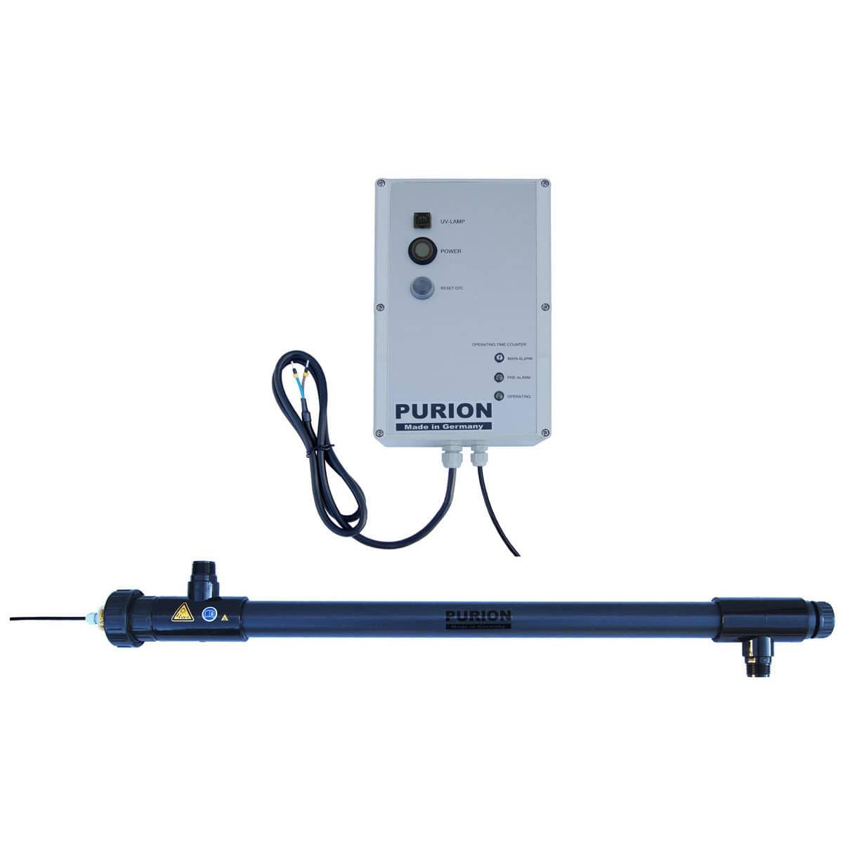 Purion® Uv 2500 Lampe U Pvc 1 Desinfektionseinheit 36 Wasser W GMzVSUqp