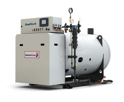 Dampfkessel / Erdgas / geringem NOx-Ausstoss / horizontal ...