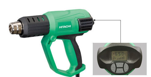 Hitachi Laser Entfernungsmesser Ug50y : Heißluftgebläse rh v hitachi koki