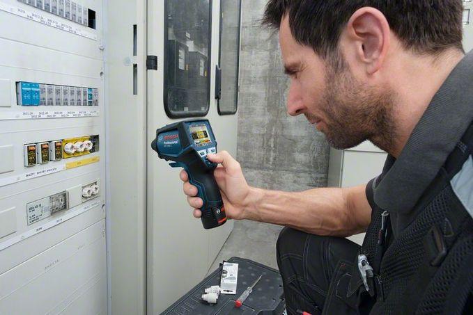 Thermischer detektor tragbar gis c professional robert