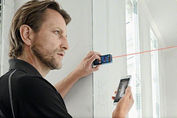 Bosch Entfernungsmesser Glm 120 C : Laser entfernungsmesser tragbar glm c professional robert