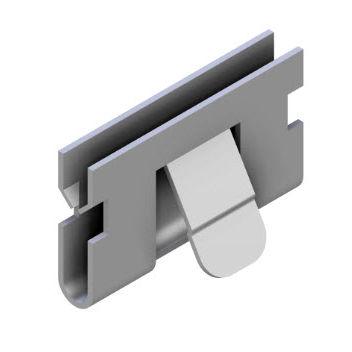 Erdungsklemme / verzinkter Stahl - E9.0141/0 - Minitec