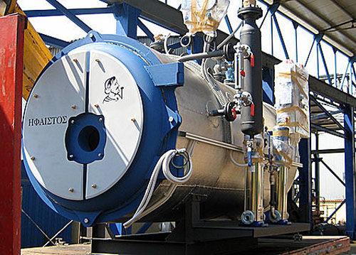Heißdampf-Kessel / gesättigter Dampf / für Hochdruck-Heißwasser ...