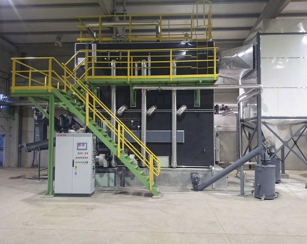 Dampfkessel / Biomasse / Flammrohr / horizontal - CSPM - ATTSU ...