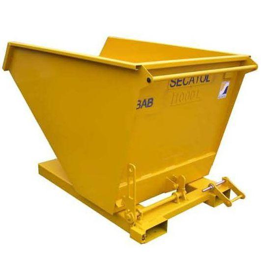 Selbstkippender Behälter / für Müll - max. 400 l | BAB PP - Secatol SAS