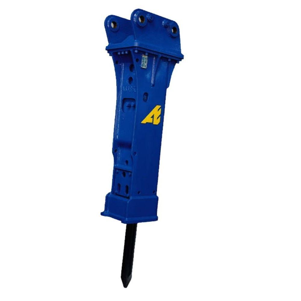 Bagger mit abbruchhammer