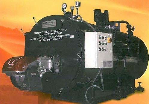 Dampfkessel / Gas / horizontal - GOFB series - Magnabosco