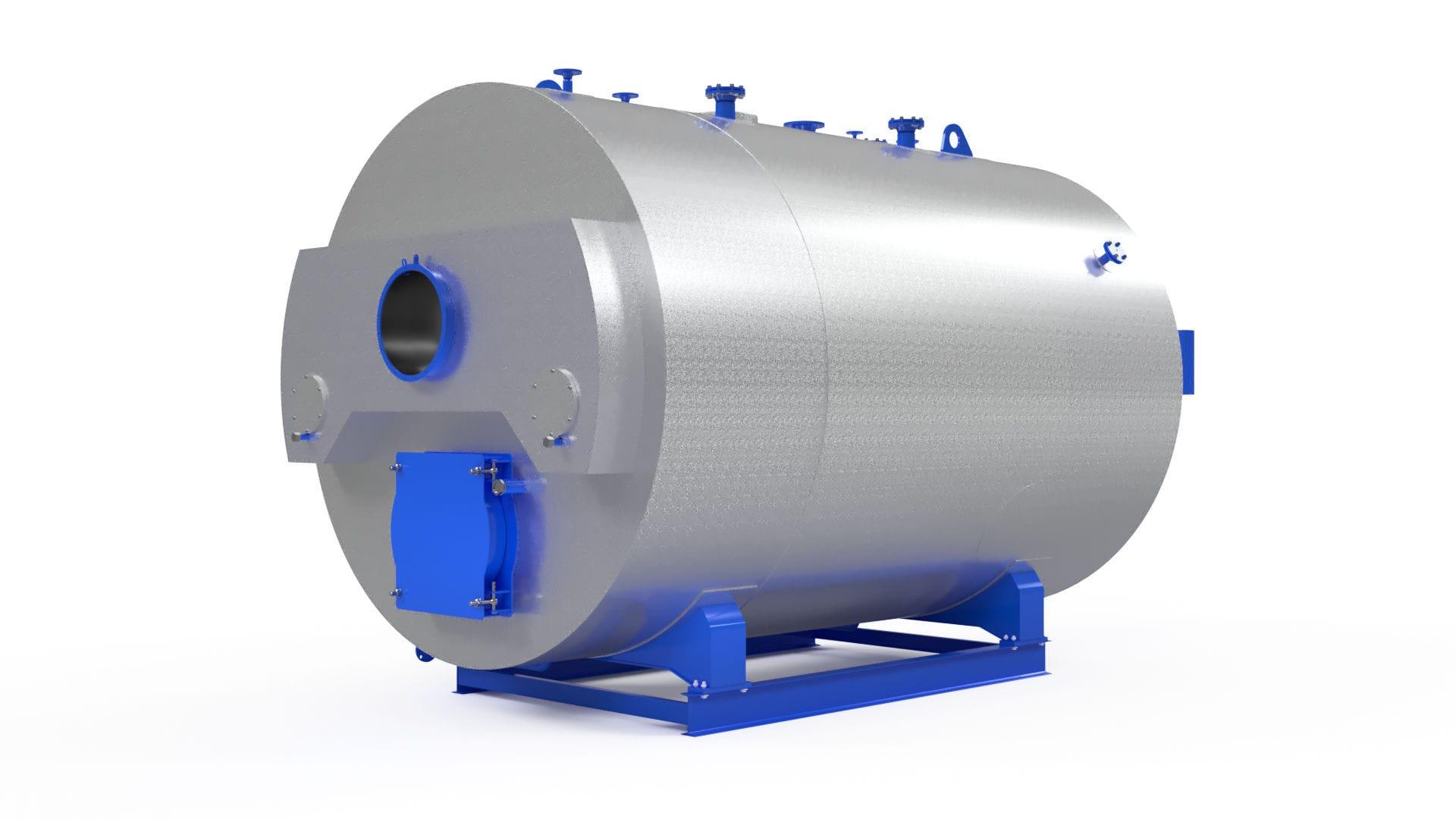 Dampfkessel / Gas / Flammrohr / horizontal - TT200 series - Entropie ...