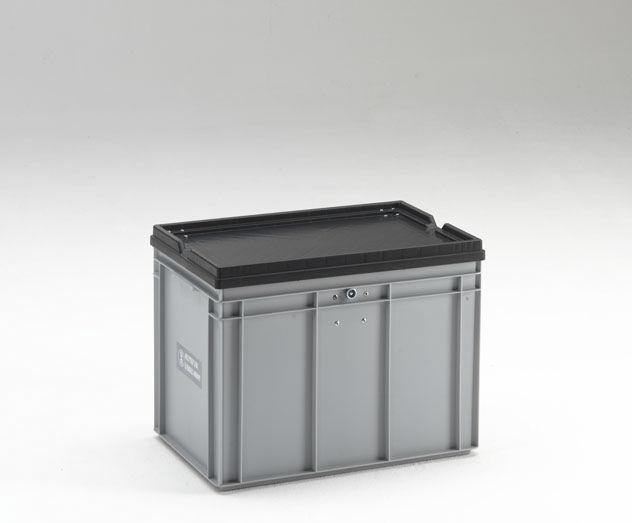 Top Kunststoff-Boxpalette / Lager / UN-homologiert / mit Deckel - 36  ZQ98