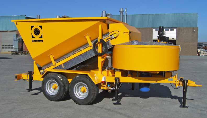Mobile betonmischanlage mieten
