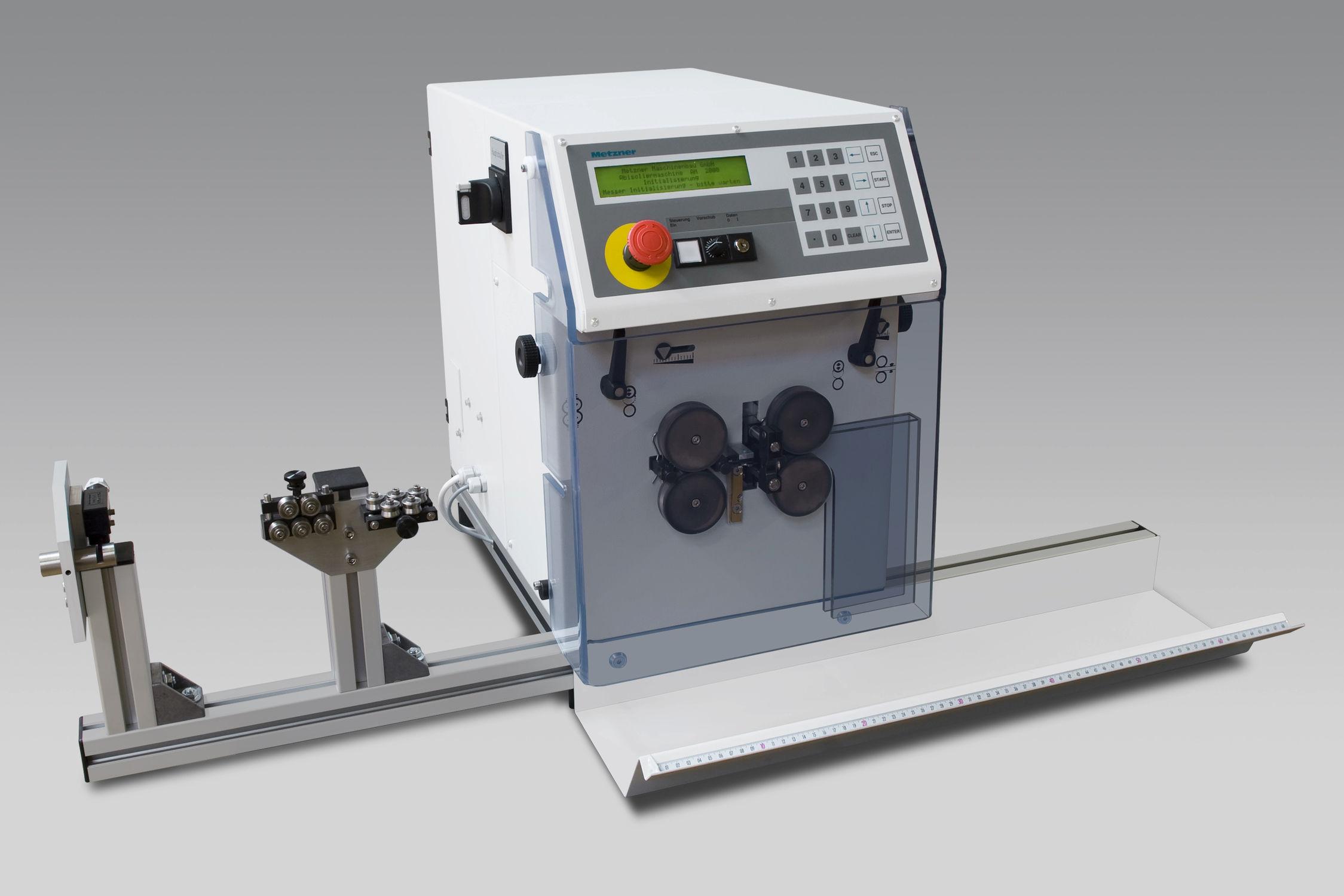 Abläng- und Abisoliermaschine / für Elektrokabel / Messer ...