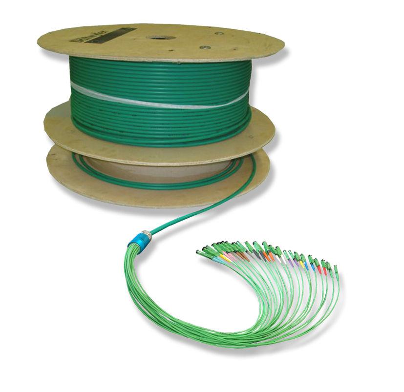 Daten-Glasfaserkabel / Multifaser / für Gebäudeverkabelung - DIAMOND SA