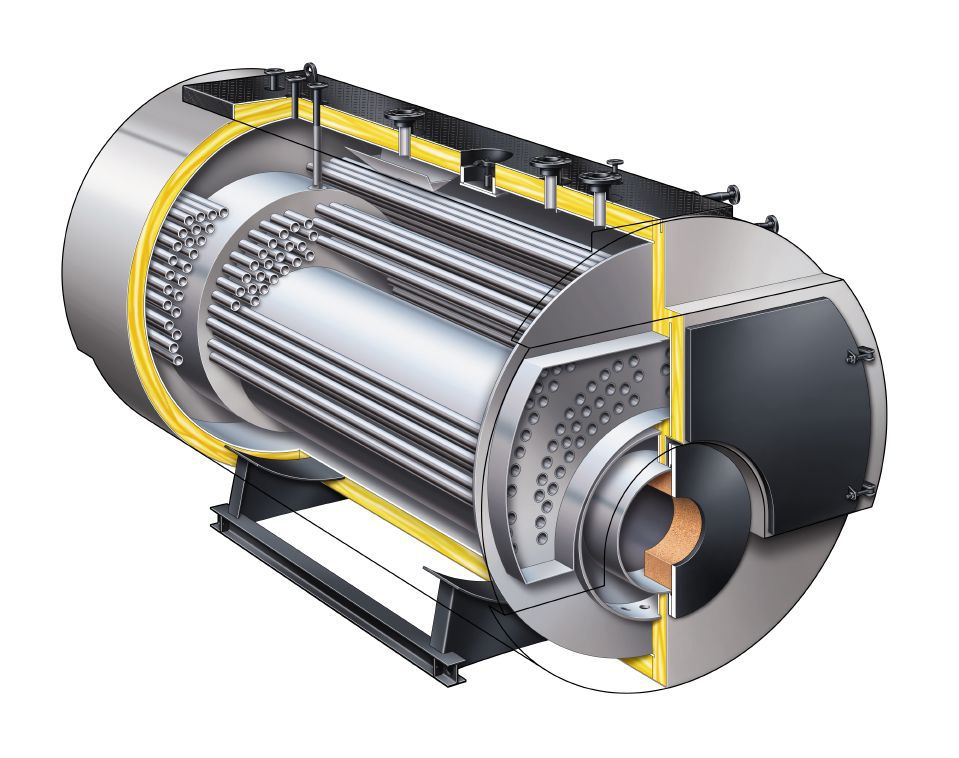 Dampfkessel / Gas / Heizöl / Flammrohr - Vitomax 300-HS - Viessmann ...