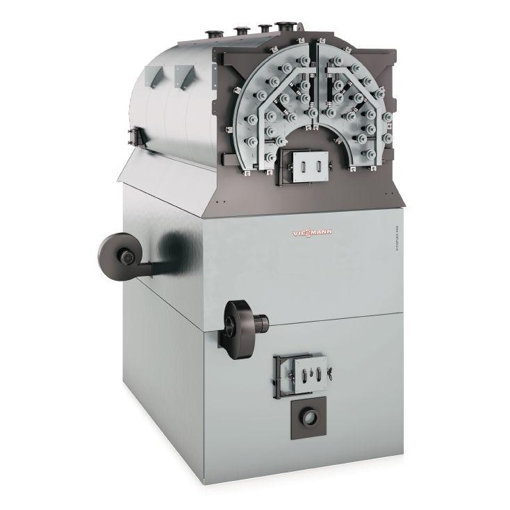 Warmwasserkessel / Dampf / Festbrennstoff / Biomasse - Vitoflex 350 ...