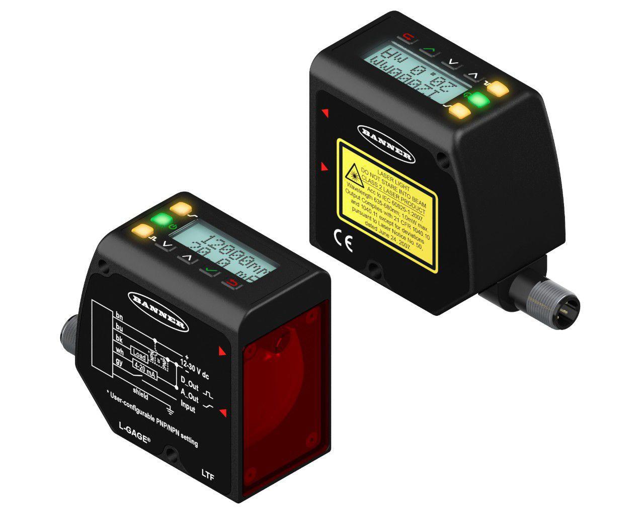 Laser laufzeitmessung abstandssensor robust analog mit