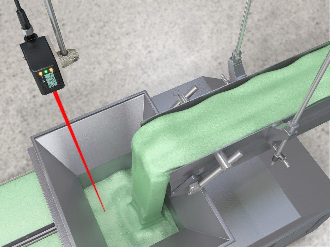 Laser Entfernungsmesser Triangulation : Laser laufzeitmessung abstandssensor robust analog mit