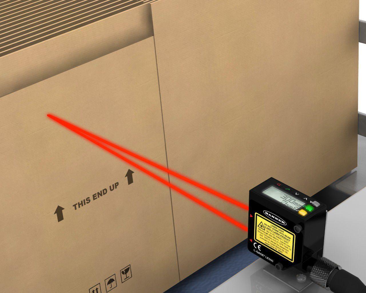Laser triangulation abstandssensor analog programmierbar mit