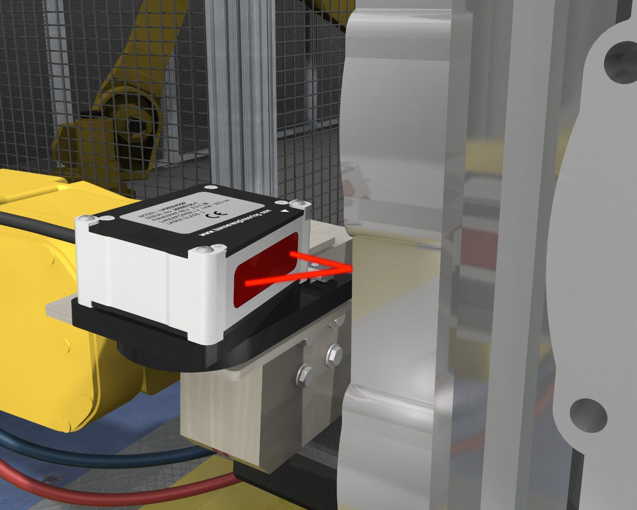 Laser Entfernungsmesser Triangulation : Laser triangulation abstandssensor analog hochpräzision