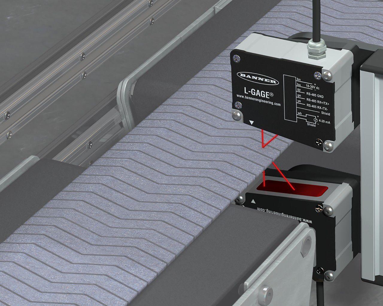Laser triangulation abstandssensor analog hochpräzision