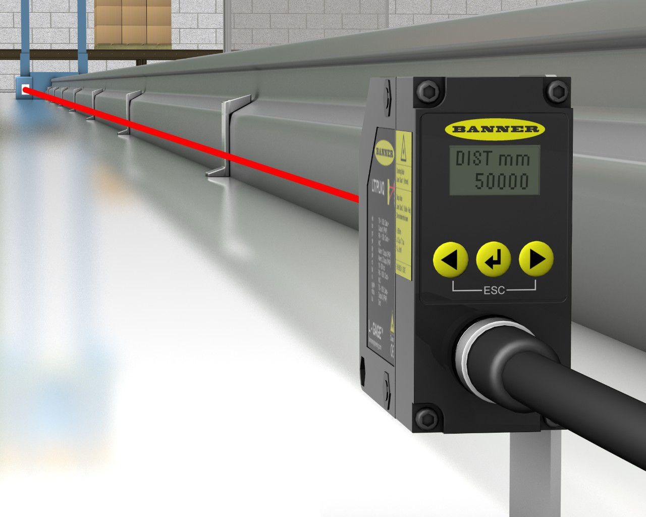 Laser Entfernungsmesser Triangulation : Laser laufzeitmessung abstandssensor analog mit großer