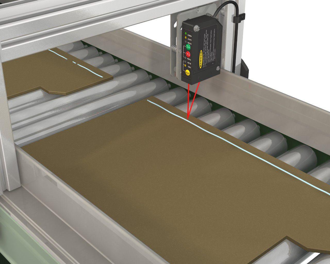 Laser Entfernungsmesser Triangulation : Laser triangulation abstandssensor analog programmierbar