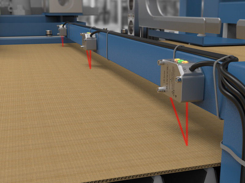 Laser triangulation abstandssensor hochpräzision kompakt mit