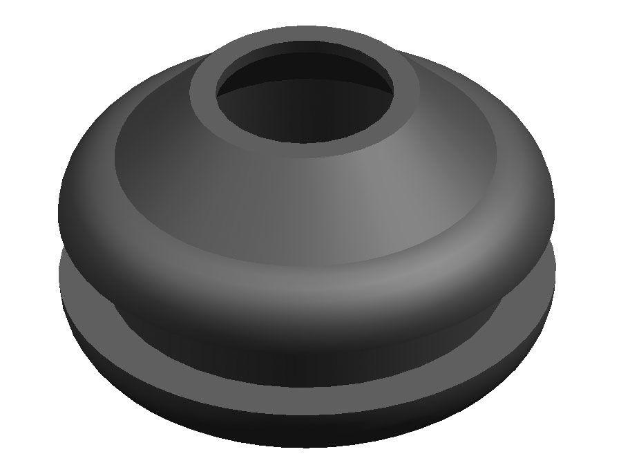 Elastomer-Kabeldurchführung / offen - ø 1 - 24.5 mm | RoHS - A. Vogt ...