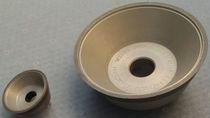 Schleifscheibe für Oberflächenbehandlung / konisch / peripher / CBN