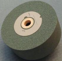 Schleifscheibe für Oberflächenbehandlung / zylinderförmig / Siliziumkarbid